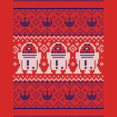 Star Wars Christmas R2D2 Knit Red T-Shirt