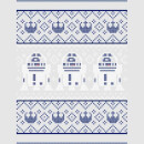 Star Wars Christmas R2D2 Knit Grey T-Shirt