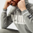 Puma Men's Style Athletics Hoody - Medium Grey Heather