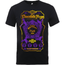 Harry Potter Honeydukes Purple Chocolate Frogs Men's Black T-Shirt