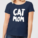 Cat Mom Women's T-Shirt - Navy