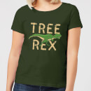 Tree Rex Women's T-Shirt - Forest Green