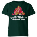 I'm Only A Morning Person Kids' T-Shirt - Forest Green