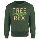 Tree Rex Sweatshirt - Forest Green