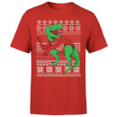T-Rex Sleeves T-Shirt - Red