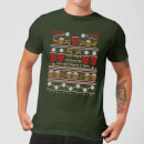 Tis The Season To Be Trollied T-Shirt - Forest Green