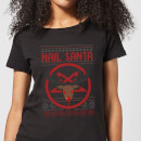 Hail Santa Women's T-Shirt - Black