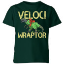 Veloci Wraptor Kids' T-Shirt - Forest Green