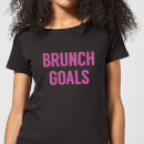 Brunch Goals Women's T-Shirt - Black