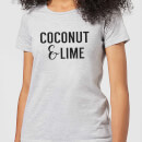 Coconut and Lime Women's T-Shirt - Grey