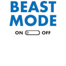 Beast Mode On Women's T-Shirt - White