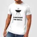 Licensed to Grill T-Shirt - White
