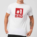 Number 1 Dad T-Shirt - White