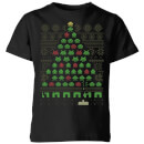 Invaders From Space Kids' T-Shirt - Black