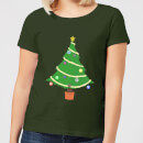 Buttons Tree Women's T-Shirt - Forest Green