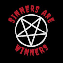 Sinners are Winners Sweatshirt - Black