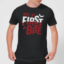 Love at First Bite T-Shirt - Black