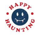 Happy Haunting Fang Sweatshirt - White