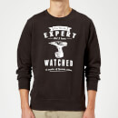 Im not an Expert Sweatshirt - Black