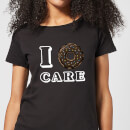 I Donut Care Women's T-Shirt - Black