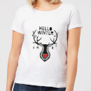 Hello Winter Women's T-Shirt - White