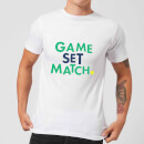 Game Set Match T-Shirt - White