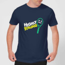 Highly Strung T-Shirt - Navy