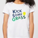 Kick Some Grass Women's T-Shirt - White