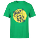 Keep Your Gin Up T-Shirt - Kelly Green