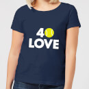 40 Love Women's T-Shirt - Navy