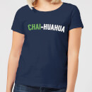 Chai-huahua Women's T-Shirt - Navy