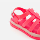Mini Melissa Kids' Flox 19 Sandals - Neon Pink
