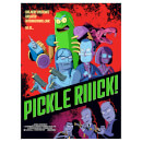 "Rick & Morty Pickle Rick Lithograph Print By Serban Cristescu (18""x24"") – Zavvi Exclusive Limited To 300 Pieces"