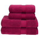 Christy Supreme Hygro Towel Range - Raspberry