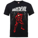 T-Shirt Homme Poses Daredevil - Marvel Comics - Noir
