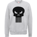 Marvel The Punisher Skull Logo Trui - Grijs