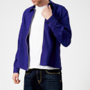 AMI Men's Zipped Light Jacket - Purple