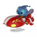Figurine Pop Stitch The Red One en Vaisseau EXC Disney