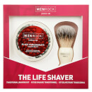 Men Rock The Life Shaver (Black Pomegranate Shave Cream, The Brush)