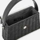 Wicker Wings Women's Tixing Wicker Bag - Grey/Black