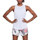 Under Armour Women's Threadborne Streaker Open Back Tank Top - White