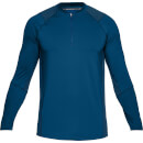 Under Armour Men's MK1 1/4 Zip Long Sleeved Top - Blue