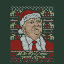 Make Christmas Great Again Men's Green Christmas Sweatshirt