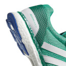 adidas Men's Adizero Adios Running Shoes - Green/White