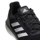 adidas Men's Response ST Running Shoes - Black/White/Grey