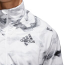 adidas Men's Adizero Track Jacket - White/Black