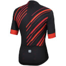 Sportful R&D Celsius Jersey - Black/Anthracite/Red