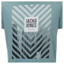 T-Shirt Homme Core Burke Jack & Jones - Bleu Clair