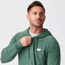 Performance Zip Top - XS - Dark Green Marl