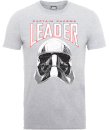 Star Wars The Last Jedi Captain Phasma Men's Grey T-Shirt